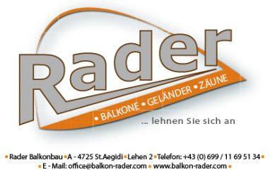 BALKON RADER